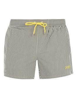 Boss Velvet Fish Swim Shorts