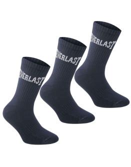 Everlast 3 Pack Crew Socks