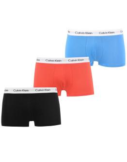 Calvin Klein 3 Pack Low Rise Trunks