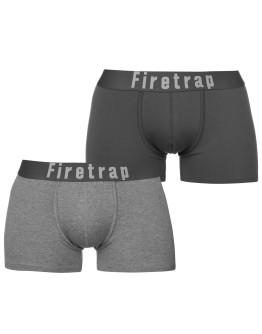 Firetrap 2 Pack Trunks Mens