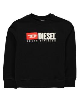 Diesel Junior Boys Division Crew Sweatshirt