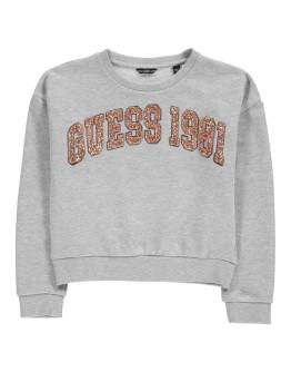 Guess Glitter 1981 Logo Sweatshirt
