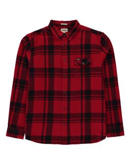 Wrangler Single Pocket Long Sleeve Shirt