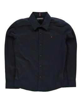 Tommy Hilfiger Junior Boys Long Sleeve Poplin Shirt