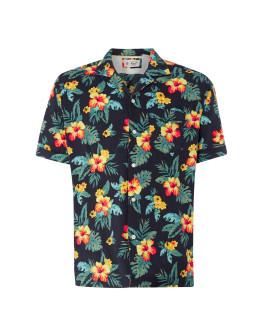 Original Penguin Short Sleeve Floral Shirt