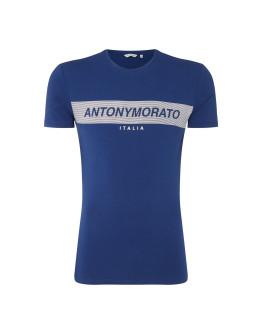 Antony Morato Rubber Logo T Shirt