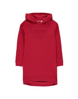 Guess Hooded Logo Dress