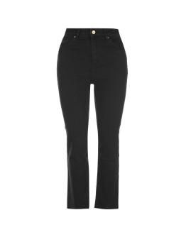 Abrand High Crop Boot Leg Jeans