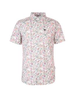 Soviet Short Sleeve Paisley Shirt
